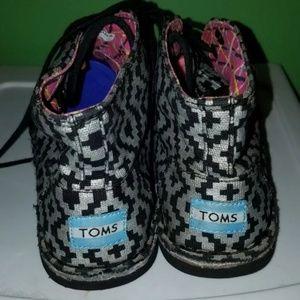 TOMS botas 7.5 womens